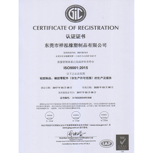 ISO9001-2015 Certification